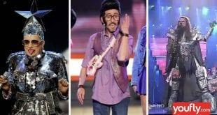 Eurovision εκκεντρικές εμφανίσεις