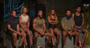 Ποιοι είναι οι τρεις υποψήφιοι προς αποχώρηση από το Survivor