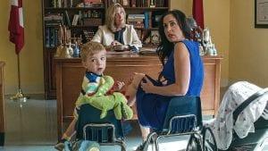 Σκηνή από τη σειρά εργαζόμενες μητέρες