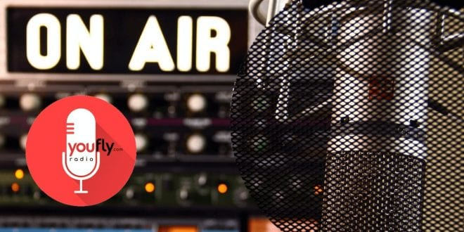 Youfly Web radio on air