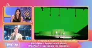 eurovision 2021 χορογραφία στεφανίας