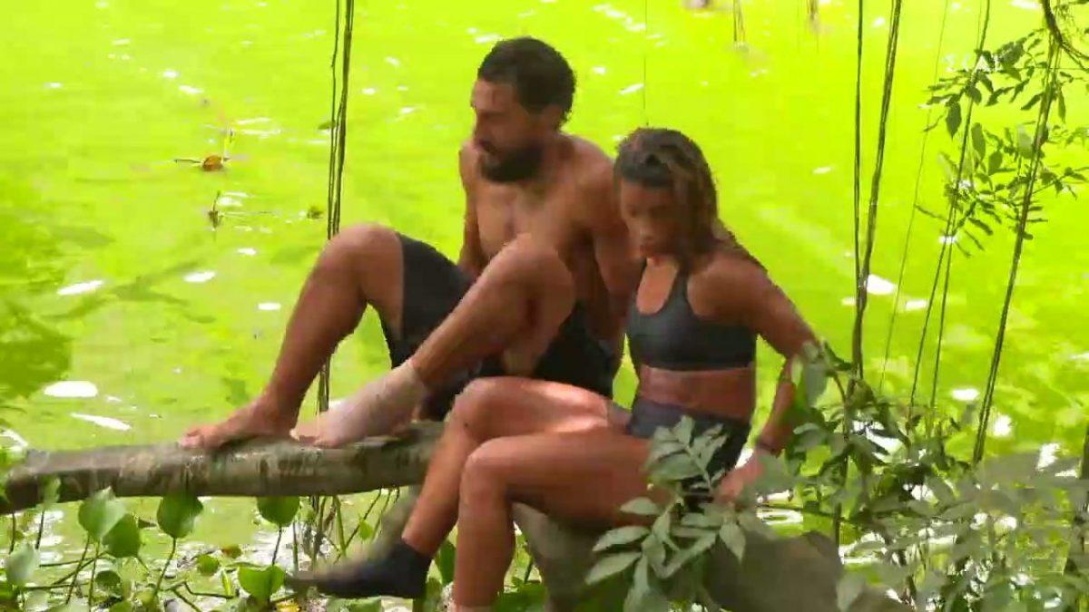 Survivor Επική τούμπα έσπασε το κλαδί και Σάκης Μαριαλένα πέσανε στο ποτάμι
