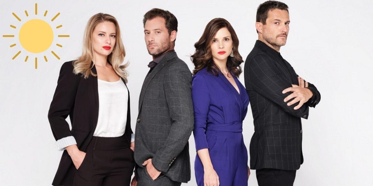 Οι πρωταγωνιστές στη σειρά Ήλιος στην δεύτερη σεζόν