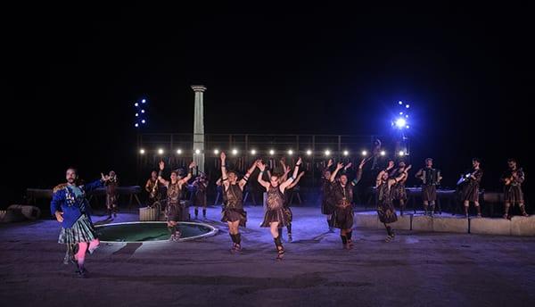 φωτογραφία από τους Ιππείς του Αριστοφάνη - επόμενοι σταθμοί για την περιοδεία
