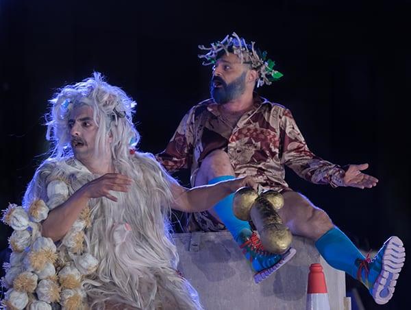 Ιππείς του Αριστοφάνη στο Αρχαίο Θέατρο Επιδαύρου