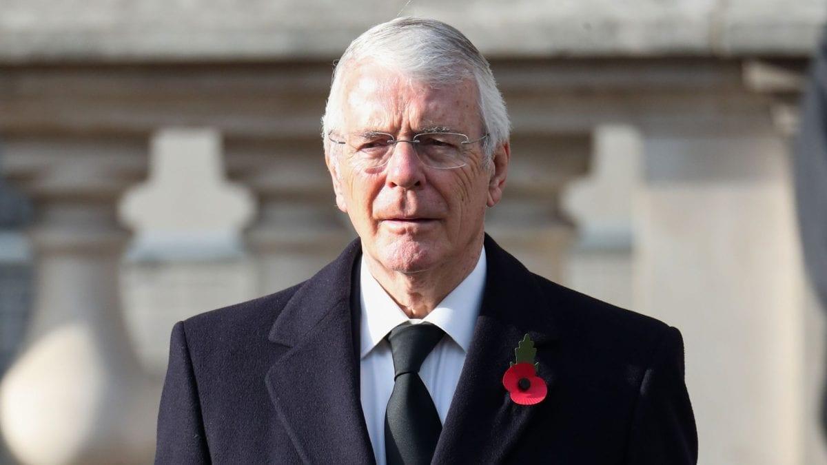 Ο πρώην πρωθυπουργός της Βρετανίας John Major