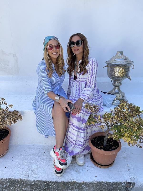 My Greece η Δέσποινα Βανδή μαζί με την Μελίνα Ασλανίδου ταξιδεύουν στην Καβάλα