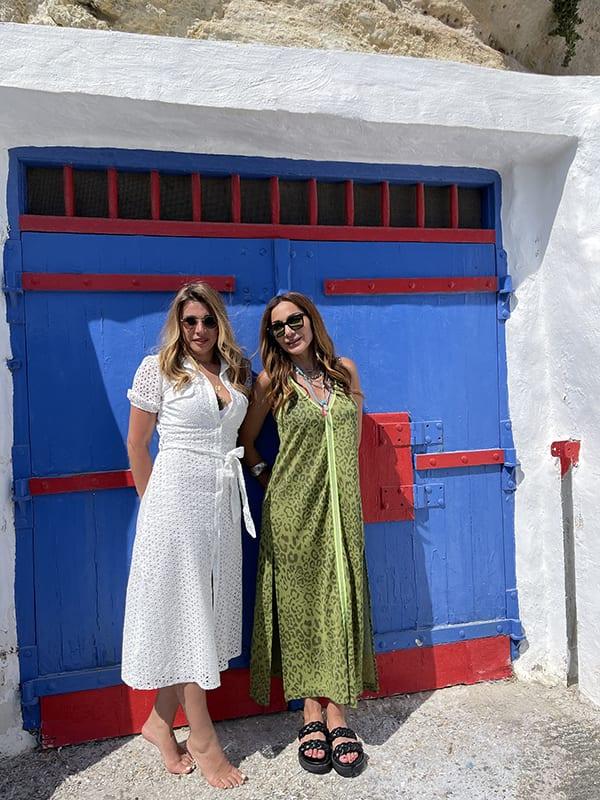 My Greece Δέσποινα Βανδή και Έρρικα Πρεζεράκου στη Μήλο και την Κίμωλο