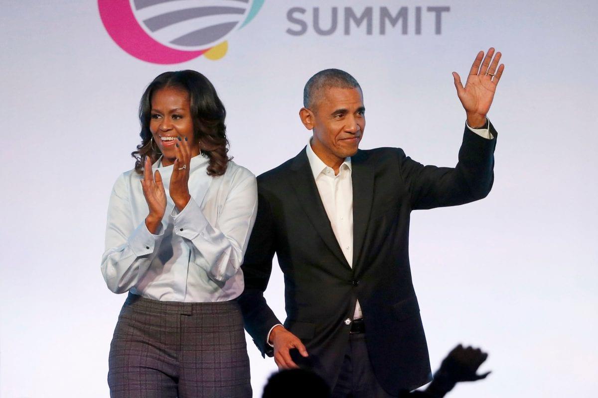 Ο Μπάρακ και η Μισέλ Ομπάμα