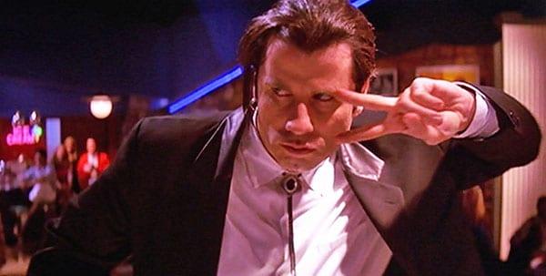 Quentin Tarantino Pulp Fiction - Travolta