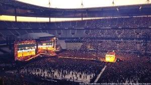 Πλάνο από συναυλία στο Stade France