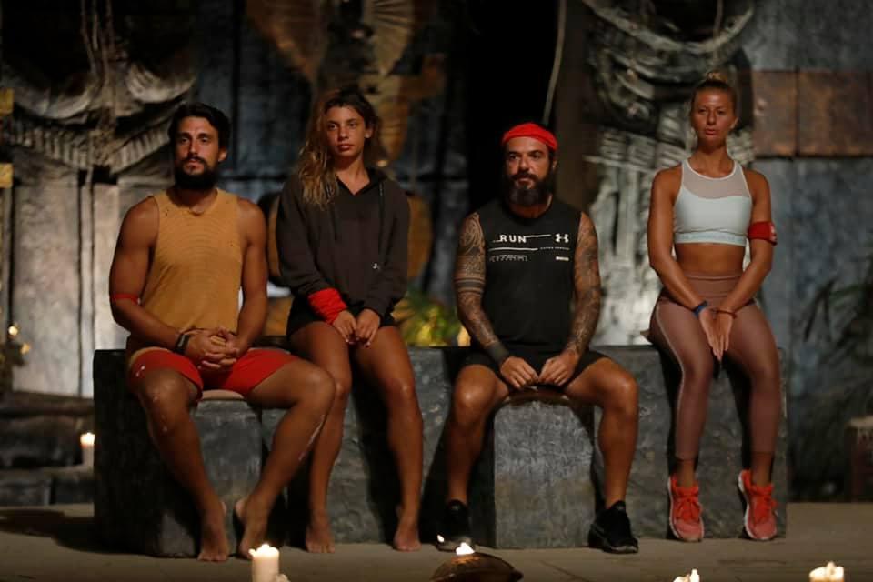 Ποιοι είναι οι τέσσερις υποψήφιοι παίκτες προς αποχώρηση από τη Survivor