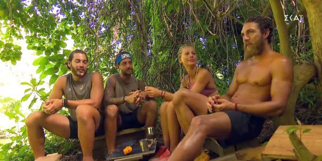 Ποιοι είναι οι τρεις υποψήφιοι παίκτες προς αποχώρηση από το Survivor;
