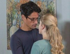 Η Κατερίνα στην Αγγελική με τον Δημήτρη