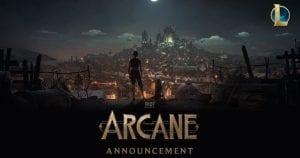 Εικόνα από την επερχόμενη σειρά Arcane του Netflix