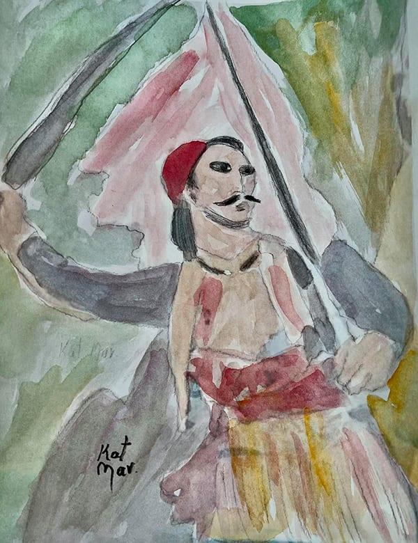 Δημοτική πινακοθήκη Κορίνθου έκθεση για Χατζηγιάννη Μερτζέλο