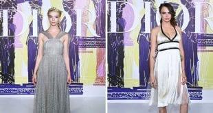Η Ανια και η Καρα στο Dior