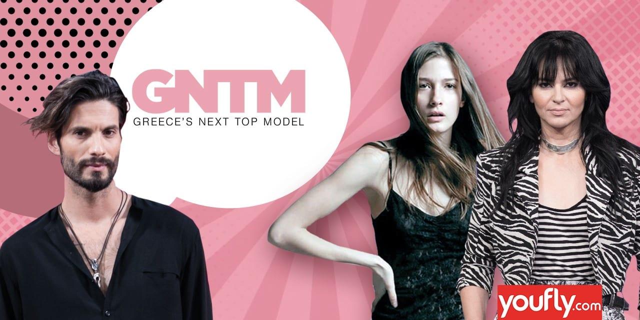 Η Ισμήνη, ο Καράβας και η Ζεν στα γυρίσματα του GNTM 4