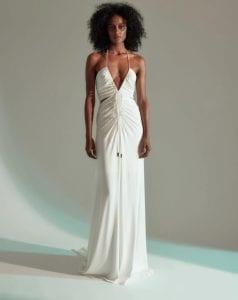 Το άσπρο Grace φόρεμα, ένα από τα καλύτερα φορέματα του Halston