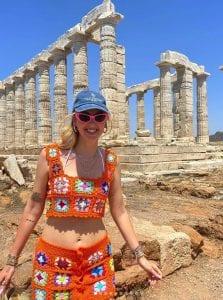 Η Κιάρα Φεράνι στην Ελλάδα