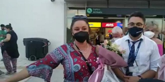 Η Μαργαρίτα επέστρεψε στην Μυτιλήνη