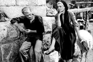 Η Μελίνα μερκούρη στην παλιά ελληνική ταινία