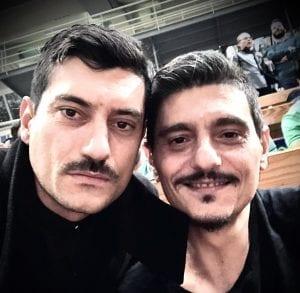 Αργύρης Πανταζάρας και Δημήτρης Γιαννακόπουλος