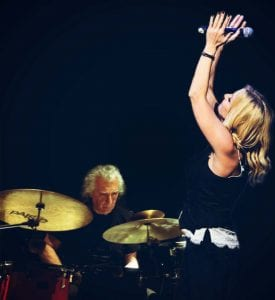 Η Πέγκυ Ζήνα στη συναυλία