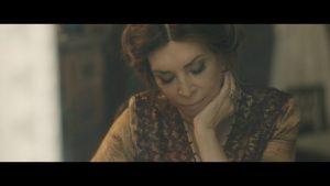 Η Μιμή Ντενίση στα γυρίσματα της ταινίας Σμύρνη μου αγαπημένη