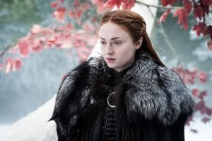 Η Sophie Turner στο Game of Thrones