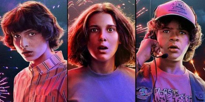 αφίσα από τη σεζόν 4 του Stranger Things