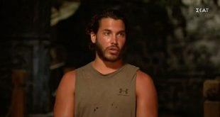 Ο Ασημακόπουλος μιλάει στον Σάκη στο Survivor