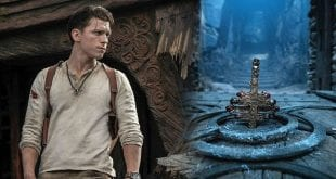 o tom holland στην ταινία uncharted