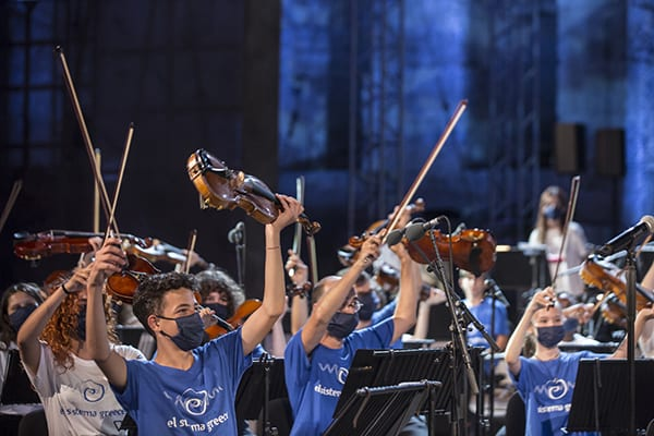 El Sistema Greece Youth Orchestra - συναυλία World A Music Ηρώδειο