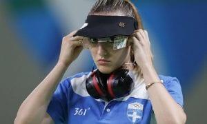 Η αθλήτρια τοξοβολίας Άννα Κορακάκη