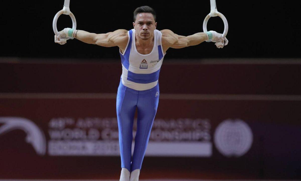 Ο Έλληνας πρωταθλητής στου κρίκους Λευτέρης Πεςτρούνιας