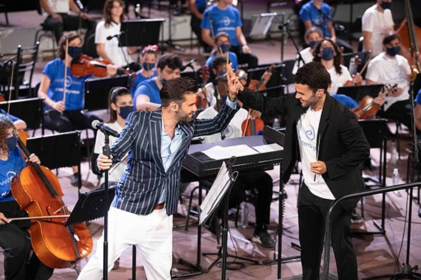 συναυλία World A Music Ηρώδειο - Μαραντίνης και Angel Salazar Marin