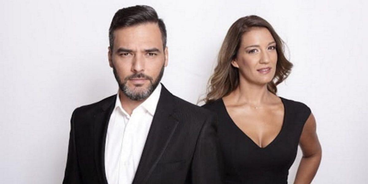 Ελίνα Παπίλα και Γιώργος Καρτελιάς στο πρωινό του STAR