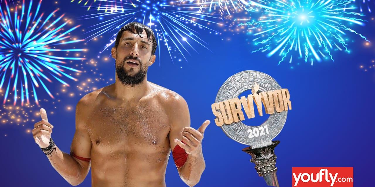 Ο Σάκης Κατσούλης είναι ο μεγάλος νικητής του Survivor