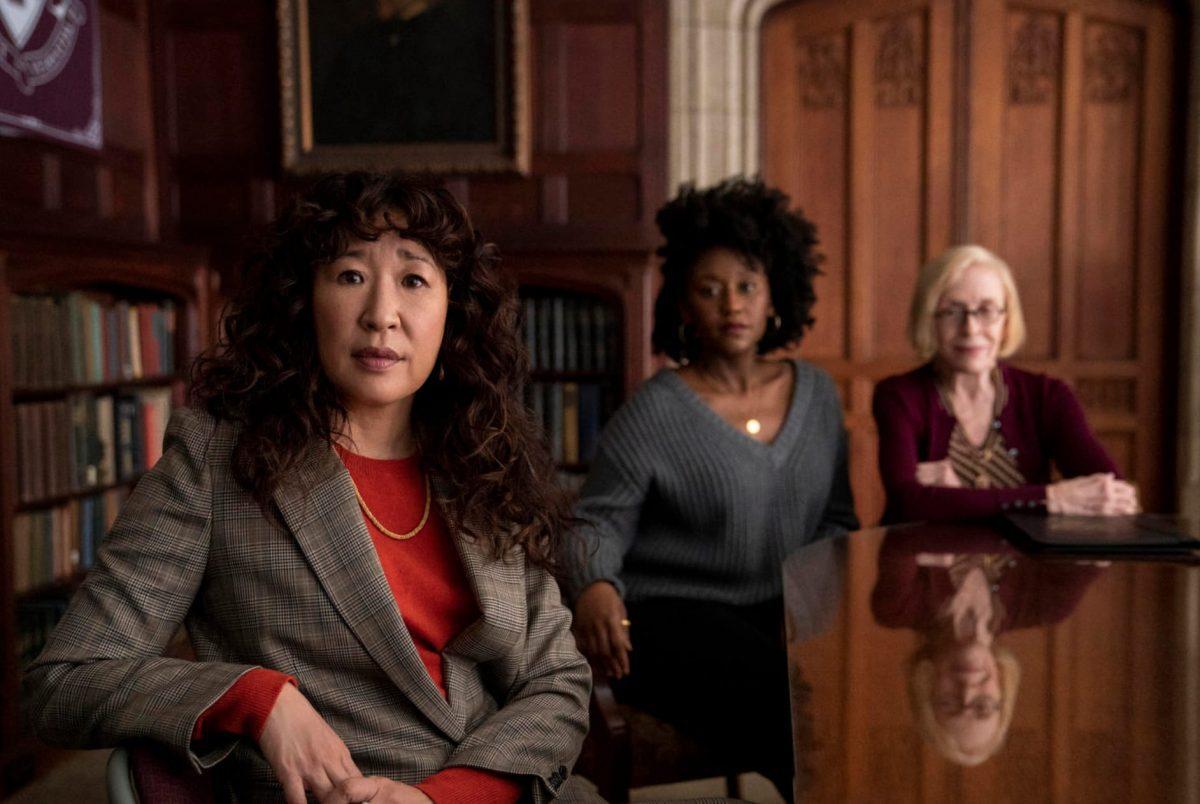 Σκηνή από το The Chair στο Netflix