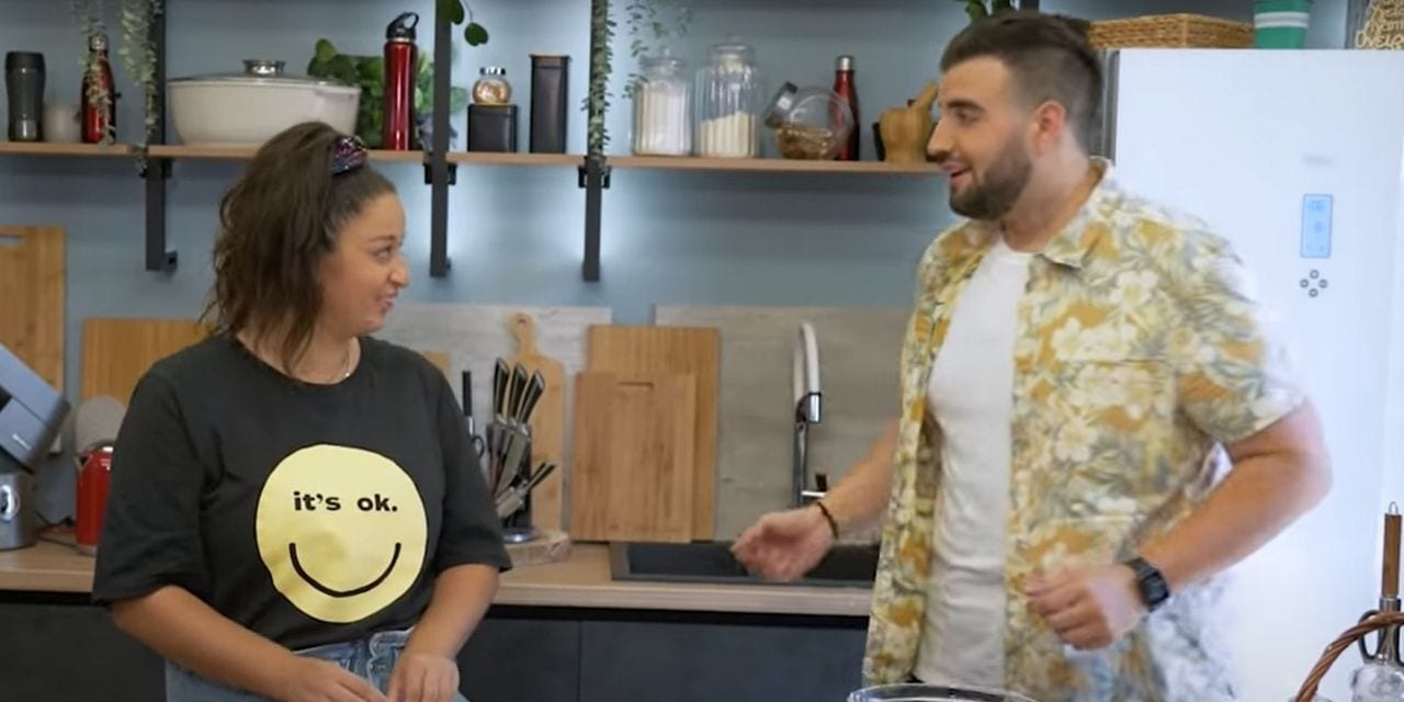 Σταύρος Βαρθαλίτης και Μαργαρίτα Νικολαΐδη μαγειρεύουν μαζί