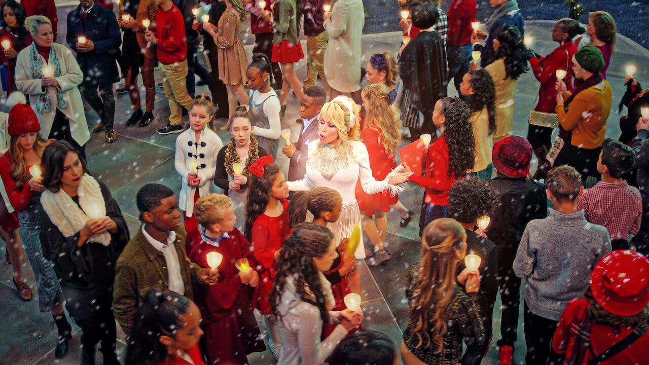Ypopsifiotites vraveion Emmy - Dolly Parton Christmas on the square - Υποψηφιότητες Emmy