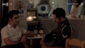 Ο Άγγελος και ο Μπάμπης στο καφενείο στο Διαφάνι