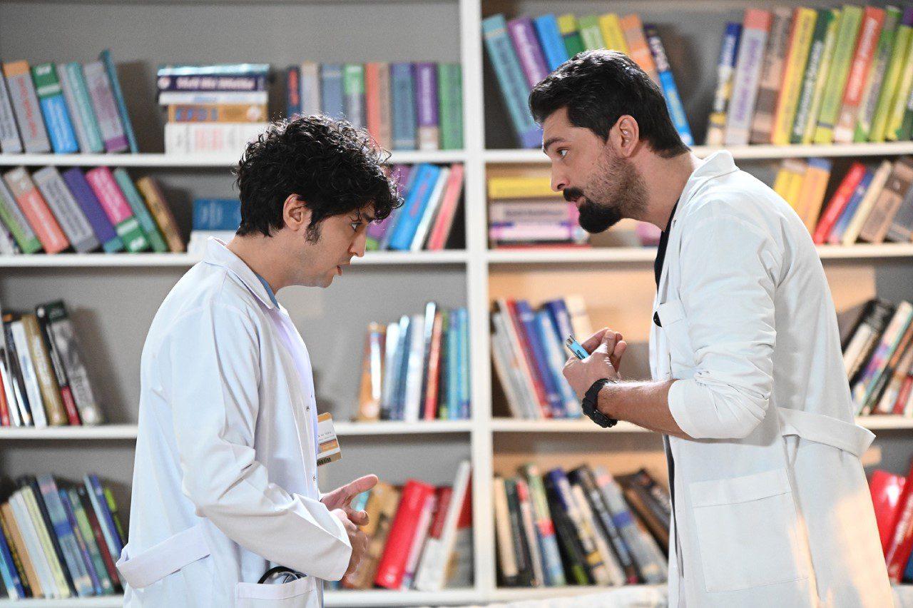 Ο Αλί και ο Φέρμαν στη σειρά ο γιατρός