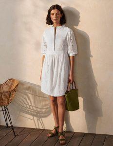 Λευκό καλοκαιρινό φόρεμα