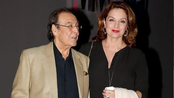 Η Άντζελα Γκερέκου και ο σύζυγός της