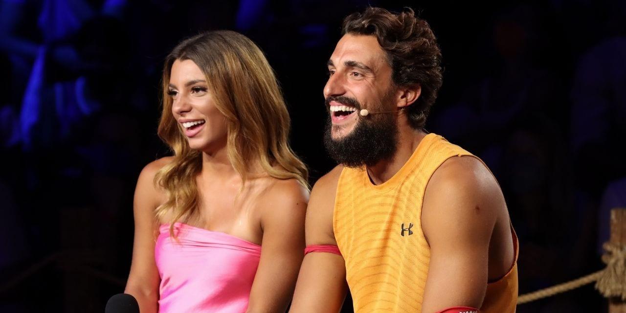 Ο Σάκης και η Μαριαλένα στον τελικό του Survivor