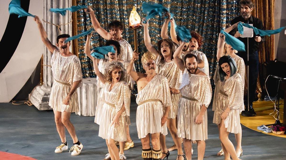 θεατρικές παραστάσεις καλοκαίρι - 1821 η επιθεωρηση