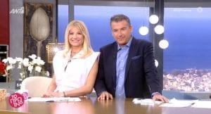O Γιώργος Λιάγκας και η Φαίη Σκορδά τη νέα σεζόν στο Πρωινό ANT1