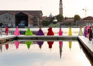 Επίδειξη μόδας στην βενετία